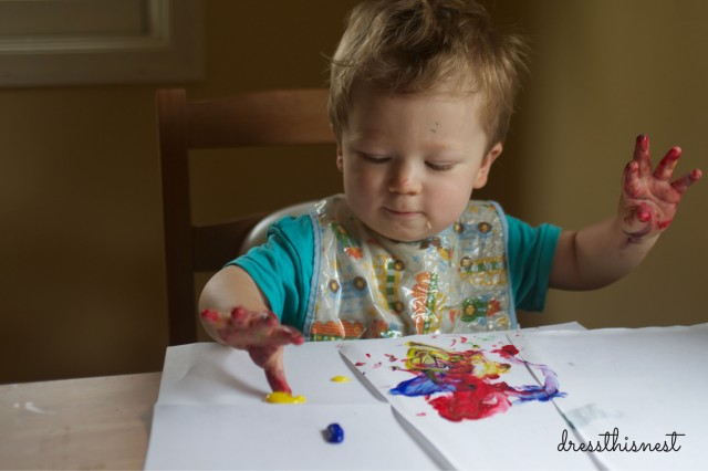 baby-toddler-craft-time-finger-paint